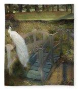 The Foot Bridge Fleece Blanket