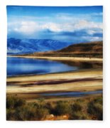 The Great Salt Lake Fleece Blanket