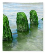 The Green Jetty Fleece Blanket