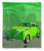 The Green Machine Fleece Blanket