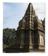 The Hindu Temple Fleece Blanket
