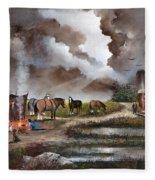 The Horse Traders Fleece Blanket