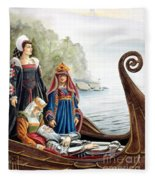 The Isle Of Avalon Fleece Blanket