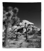 The Joshua Tree Fleece Blanket