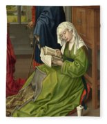The Magdalen Reading Fleece Blanket
