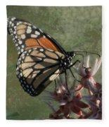 The Monarch Painterly Fleece Blanket