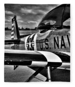 The North American L-17 Navion Aircraft Fleece Blanket