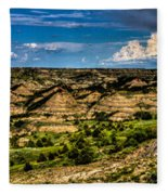The Painted Hills Fleece Blanket