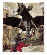 The Plague Fleece Blanket