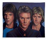 The Police Fleece Blanket