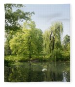 The Pool Central Park Fleece Blanket