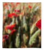 The Poppy Fleece Blanket