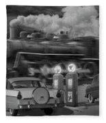The Pumps Fleece Blanket