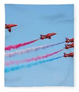 The Red Arrows Fleece Blanket