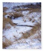 The River Runs Fleece Blanket