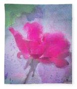 The Scent Of Roses Fleece Blanket
