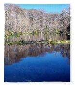River - Reflection Fleece Blanket