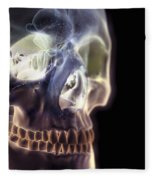 The Skull And Paranasal Sinuses Fleece Blanket