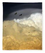 The Sky Fleece Blanket
