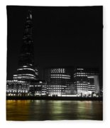The South Bank London Fleece Blanket