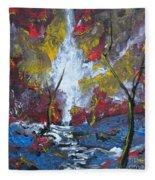 The Stream Of Light Fleece Blanket