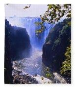 The Victoria Falls Fleece Blanket