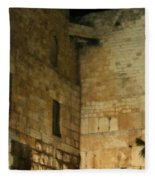 The Wailing Wall Fleece Blanket