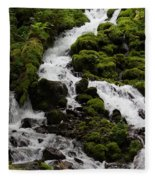 The Water Snake Fleece Blanket