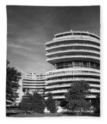 The Watergate Hotel - Washington D C Fleece Blanket
