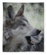 The Wolf 4 Fleece Blanket