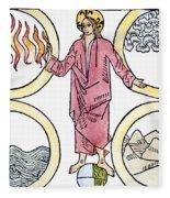 The World Soul, 1487 Fleece Blanket