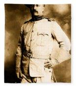 Theodore Roosevelt 1898 Fleece Blanket