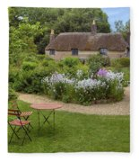 Thomas Hardy's Cottage Fleece Blanket