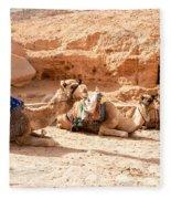Three Camels Fleece Blanket