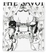 Title Page From The Savoy Fleece Blanket