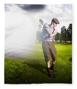 Top Flight Golf Fleece Blanket