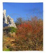 Torcal Natural Park Fleece Blanket