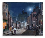 Tower Street Dudley C1930s Fleece Blanket