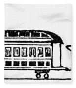 Train, 19th Century Fleece Blanket