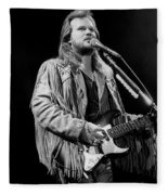 Musician Travis Tritt   Fleece Blanket