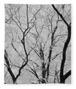 Tree Branches Fleece Blanket