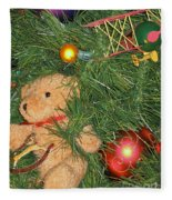 Tree Of Toys Fleece Blanket