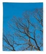 Tree Profile Fleece Blanket