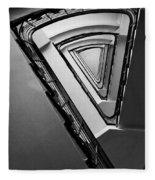 Triangle Staircase Fleece Blanket