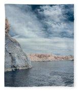Trinidad Shoreline Fleece Blanket