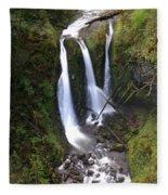 Triple Falls Fleece Blanket