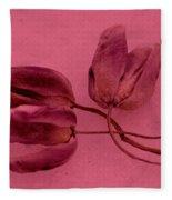 Tulip Lover Fleece Blanket
