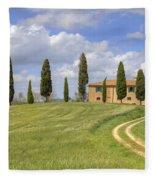 Tuscany - Pienza Fleece Blanket