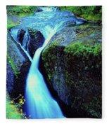 Twister Falls  Fleece Blanket