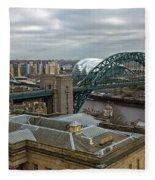 Tyne Bridge Fleece Blanket